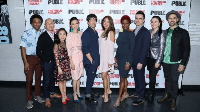 Wild Goose Dreams Celebrates Opening Night at the Public Theater